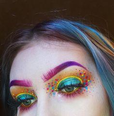 48 Pretty Rainbow Makeup Ideas Make-up Makeup Goals, Makeup Hacks, Makeup Inspo, Makeup Inspiration, Makeup Ideas, Makeup Themes, Makeup List, Makeup Tutorials, Maquillage Halloween