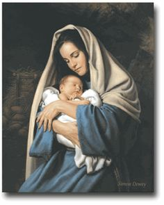 In the Arms of Mary by Simon Dewey