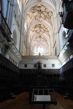 Coro de la Catedral de Palencia  -Final del gótico.
