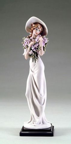Lilac by Giuseppe Armani.  #1995-F from the Flower Ladies Collection.