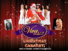 Viva Christmas Cabaret at VIVA Blackpool, 3 Church Street, Blackpool, FY1 1HJ, UK, On Friday November 21, 2014 at 6:00 pm to 11:45 pm,Back by popular demand for 2014 join us here at VIVA for our amazing 'Christmas Cabaret', Category: Theatre ,Price: Diamond: £14.90 Silver Seating: £12.90 Gold Seating: £14.90 Dinner and Show Package,Gold Seating: £29.90,Artists :  Leye D Johns, Phil Jeffries, Emma Wright