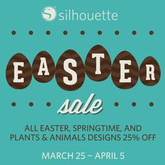 Silhouette Design Store - Easter Sale 2015