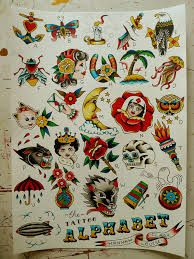 Imagini pentru american traditional tattoo moon