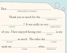 Free Printable Teacher Thank You Cards