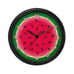 watermelon wall clock blank wall clock frei