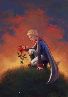El principito y la rosa - TE AMO