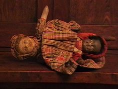 """""""A controversial homemade doll that's often found in the South is the…"""