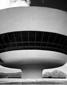 """MAC"" in Niteroi, Brasil by Oscar Niemeyer"
