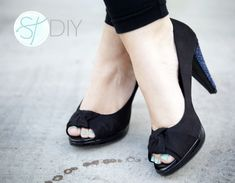 Beaded Heels...maybe I should do this to my favorite black heels to give them a new look
