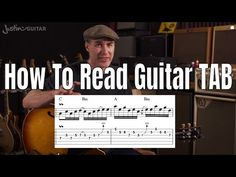 In this guitar lesson you will learn how to read guitar TAB. It's aimed for beginners and has examples of the different types of TAB you are likely to find o. Guitar Chords For Songs, Guitar Tips, Music Guitar, Playing Guitar, Learning Guitar, Electric Guitar Lessons, Basic Guitar Lessons, Online Guitar Lessons, Art Lessons