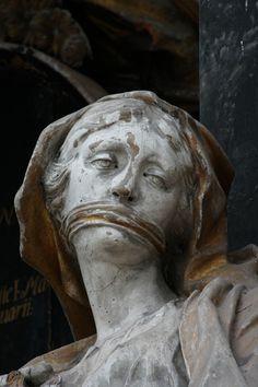 Verschwiegenheit, Epitaph Franz von Essen, Greifswalder Marienkirche