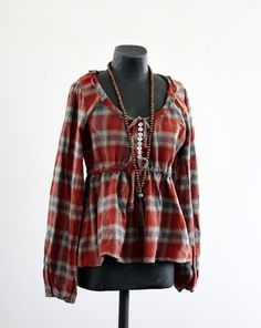Photo for inspiration/altered flannel shirt-Helt Enkelt