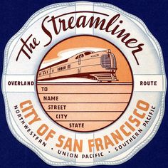 City of San Francisco Luggage Label by kitchener.lord, via Flickr