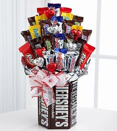 Chocolate Enchantment Valentine Bouquet