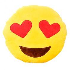 Almofada Emoji Heart Eyes - R$ 69,00