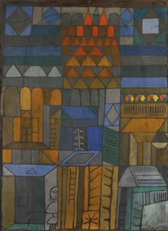 Beginnende Kuhle (Incipient Coolness) 1937. Paul Klee.
