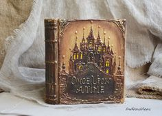 #Fairytale #wedding guest book, Personalized book, Once upon a time, vintage  wedding, Rustic wedding, Fairy Tale Guest Book