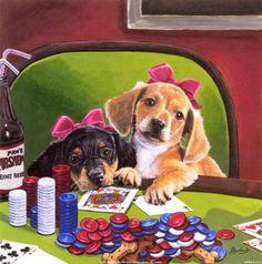 Poker Pups III