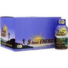 Better quality saves you more!  5 HOUR ENERGY Decaf Citrus in12 or 24 bttls better quality save U more  #5HOURENERGY