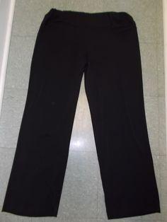 Chalet - Bamboo Cotton Black Yoga Pant