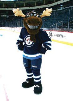 MickE Moose,Winnipeg Jets.