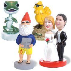 #bobblehead #wedding #gnomes