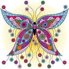Resultado de imagen para butterfly mandala