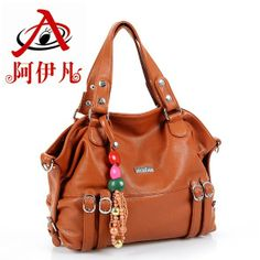 2014 autumn plaid bow women's handbag shoulder bag big bag