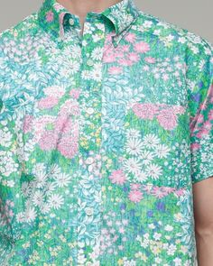 There's nothing wrong about a dude wearing floral.