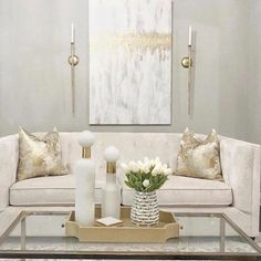 40 Outrageous Formal Living Room Tips besseres Zuhause Cream And Gold Living Room, Silver Living Room, Glam Living Room, New Living Room, Formal Living Rooms, Home And Living, Cream Living Room Decor, Beige Living Rooms, Deco Studio