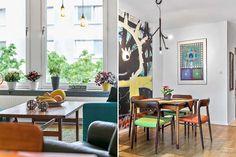 Casinha colorida: Home Tour: uma festa de cores...
