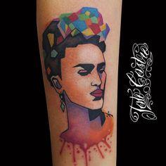 #tattoo #Tattoos #tatuajes #tatuagem #rockcity #tatocastro #tattoosofinstagram #tattoosnob #tattoostyle #tattoosforwoman #tattooshop #tattoodesign #tattoosforman #colombia #frida #fridakahlo #woman #armtattoo #vectortattoo #splashtattoo #colortattoo