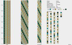 12 around tubular bead crochet rope pattern Crochet Bracelet Pattern, Crochet Beaded Bracelets, Bead Crochet Patterns, Bead Crochet Rope, Beaded Jewelry Patterns, Bracelet Patterns, Beading Patterns, Bead Jewellery, Seed Bead Jewelry