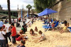 Paris Plage! Paris' very own urban beach