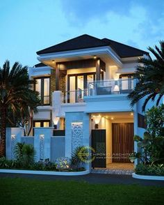 ✔ 70 modern home decor trends to copy in year 2019 9 di 2019 Dream House Exterior, Dream House Plans, Dream Houses, House Front Design, Modern House Design, Loft Design, Small Modern Houses, Style At Home, House Elevation