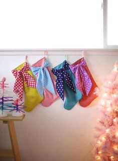 Big Bow Stockings