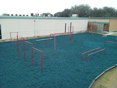 511-108 Parallel Bar for Playground or Fitness area from DunRite Playgrounds http://www.dunriteplaygrounds.com/store