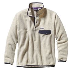 Patagonia Men's Synchilla® Snap-T® Fleece Pullover - Oatmeal Heather