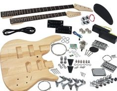Buy online the best selection of Solo DIY Electric Guitar & Bass Double Neck Kit at SOLO Music Gear. Guitar Kits, Guitar Amp, Diy Electric Guitar, Solar Energy Projects, Solo Music, Gibson Guitars, Guitar Building, Basic Tools, Diy Kits