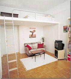 decoración dormitorio matrimonial pequeño sencillo - Buscar con Google