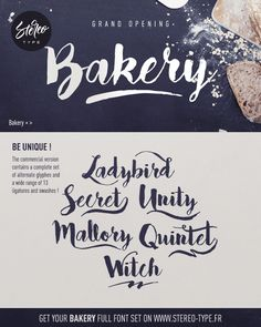 Bakery | dafont.com