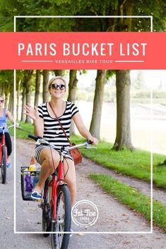 Wishing I was biking around Versailles with @FatTireParis right now...