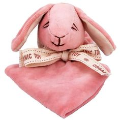 A soothing, organic bunny blanket.