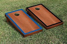 Purple  Black Rosewood Stained Border Cornhole Boards Game Set -- Find out more about the great product at the image link.