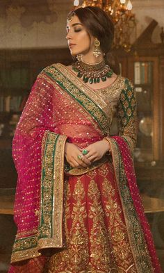 Mandira Wirk at Aamby Valley Indian Bridal Fashion Week amazing blouse Indian Bridal Outfits, Indian Bridal Lehenga, Indian Bridal Fashion, Pakistani Bridal Dresses, Indian Bridal Wear, Indian Designer Outfits, Bridal Fashion Week, Indian Dresses, Indian Wear