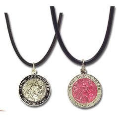 """Image Detail for - Surfer Style"""" Boys and Girls St. Christopher Medals... via Polyvore"""