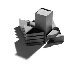 22 Design - Tangram City Sculpture Puzzle  OBJECTS AND THEIR SHADOW