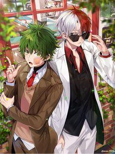 Characters: Midoriya Izuku, Todoroki Shouto
