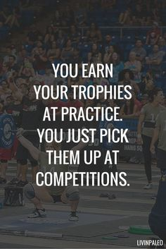 Short Inspirational Quotes about Life and Struggles You earn your trophies at practice. You just pick them up at competitions.You earn your trophies at practice. You just pick them up at competitions. Cheer Quotes, Sport Quotes, Motivational Quotes For Life, Positive Quotes, Life Quotes, Inspirational Quotes For Sports, Quotes About Sports, Cheerleading Quotes, Hard Quotes