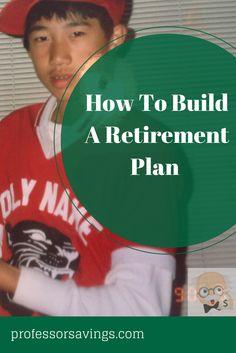 How to build a retirement plan in 2 minutes #career #job #money Click=>> http://professorsavings.com/build-retirement-plan-2-minutes/?utm_content=buffere6291&utm_medium=social&utm_source=pinterest.com&utm_campaign=buffer